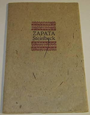 Prospectus for Steinbeck's Zapata: Yolla Bolly Press