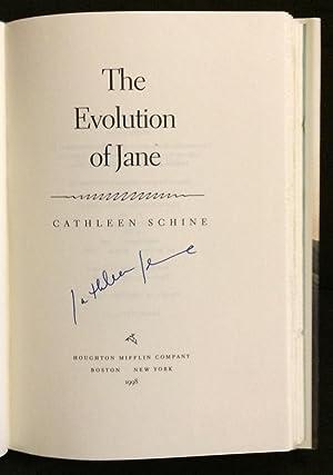The Evolution of Jane (Signed): Schine, Cathleen