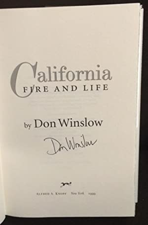 California Fire and Life (Signed): Winslow, Don