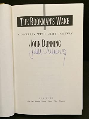 The Bookman's Wake: A Mystery With Cliff Janeway (Signed): Dunning, John