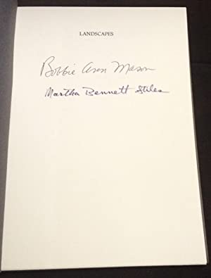 Landscapes (Signed/Limited): Mason, Bobbie Ann & Stiles, Martha
