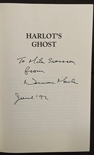 Harlot's Ghost (SIGNED & INSCRIBED IN RED DUST JACKET): Mailer, Norman
