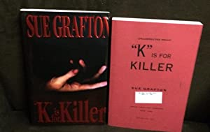K is for Killer (Uncorrected Proof In Proof Dust Jacket): Grafton, Sue
