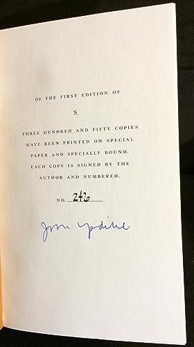 S (signed/Limited): John Updike