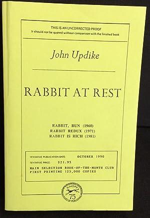 Rabbit At Rest (Uncorrected Proof): Updike, John