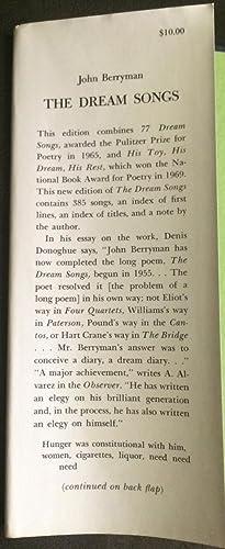 The Dream Songs (Review Copy): Berryman, John