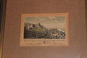 Ansicht des Schlosses, der Stadt und des: Graimberg, Karl von: