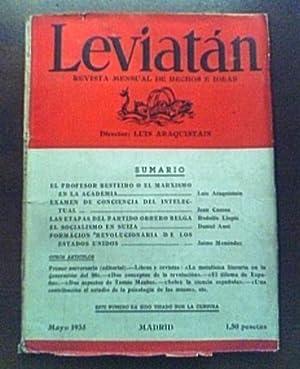 LEVIATAN: ARAQUISTAIN LUIS