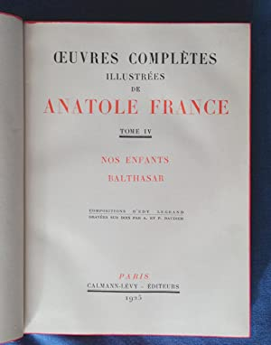 NOS ENFANTS, BALTHASAR: FRANCE ANATOLE