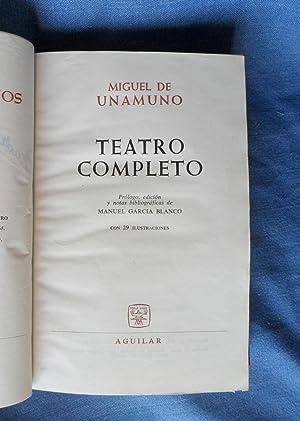 Teatro Completo: Miguel de Unamuno