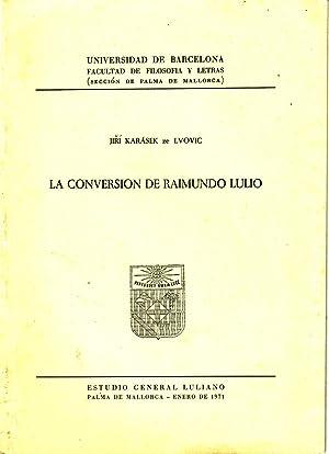 La Conversión De Raimundo Lulio: Jiri Karasek ze Lvovic