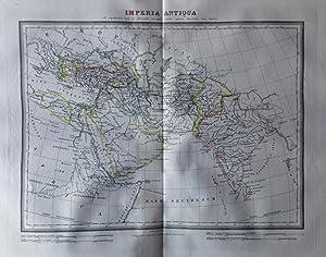 Mapa IMPERIA ANTIQUA Y EXPEDICIONES DE CIRO: Ramón Alabern