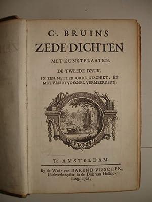 Zede-dichten (in een netter orde geschikt, en met een byvoegsel vermeerdert).: Bruins, C.