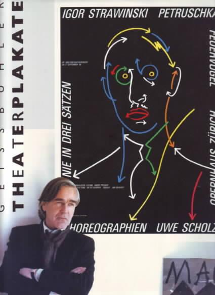 Geissbühler : Theaterplakate, Posters.: Geissbühler,Karl Domenic