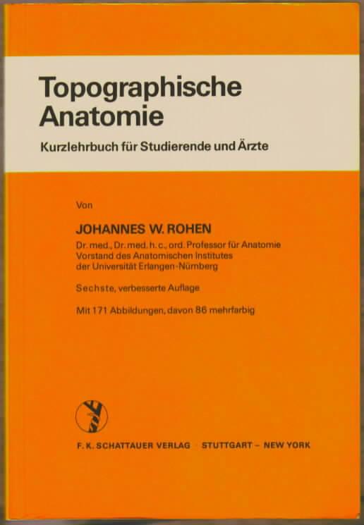 3794505832 - Topographische Anatomie - Johannes W. Rohen