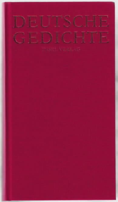 Deutsche Gedichte Hrsg Von Hans Joachim Simm