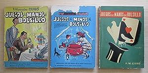 Lote 3 tomos de los Juegos de: Padre Wenceslao Ciuró