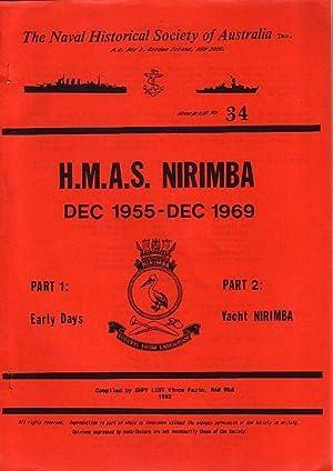 H.M.A.S. NIRIMBA, Dec 1955 - Dec 1969: NAVAL HISTORICAL SOCIETY