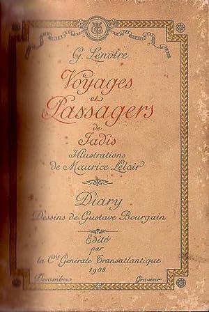 VOYAGES ET PASSAGERS DE JADIS, Illustrations de: LENOTRE, G.