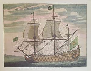 Hempel reprints of 3 Wooden Warships: GALERE: JAILLOT, Alexis Hubert