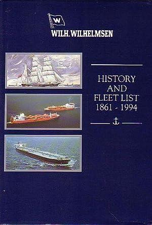 WILH. WILHELMSEN 1861-1994, A Brief History and: KOLLTVEIT, Bard, CROWDY,