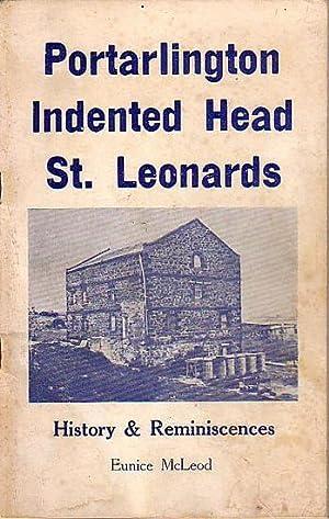 PORTARLINGTON, INDENTED HEAD, ST. LEONARDS - History: McLEOD, Eunice