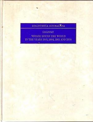 VOYAGE ROUND THE WORLD IN THE YEARS: LISIANSKY, Urey