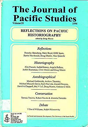 JOURNAL OF PACIFIC STUDIES - REFLECTIONS ON: N/A