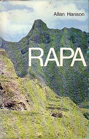 RAPA, Une île polynésienne hier et aujourd'hui: HANSON, F. Allan