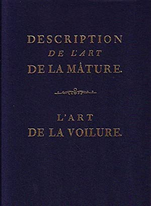 DESCRIPTION DE L'ART DE LA MATURE -: ROMME, Charles