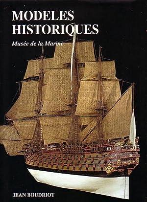 MODELES HISTORIQUES AU MUSEE DE LA MARINE: BOUDRIOT, Jean &