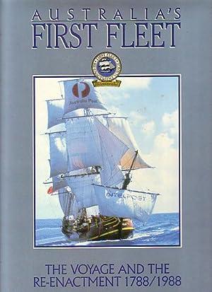 AUSTRALIA'S FIRST FLEET - The Voyage and: KING, Jonathan
