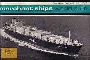 MERCHANT SHIPS: WORLD BUILT, Vessels of 1,000: SIGWART, E. E.