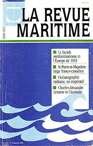 LA REVUE MARITIME - No.422 (Charles-Alexandre Lesueur  INSTITUT FRANCAIS DE 316977ff252
