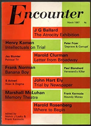 Encounter 162 March 1967 Vol. XXVIII No.: Kermode, Frank &