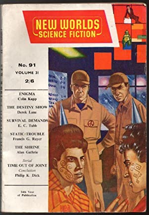 New Worlds Science Fiction No 91 Vol: Carnell, John (Editor);
