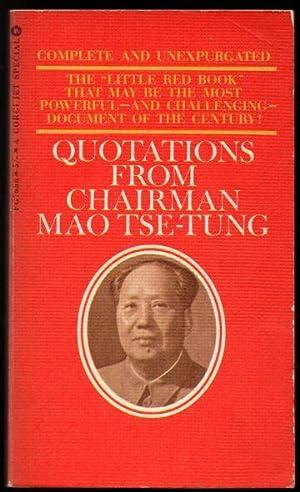 Quotations from Chairman Mao Tse_Tung: Mao-Tse Tung; Barnett,