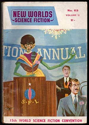 New Worlds Science Fiction No 63 Vol: Carnell, John (Editor);