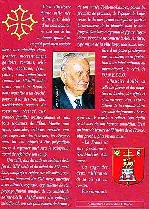 Albi, La Biographie de ma Ville, Tarn, Midi-Pyrénées, Occitanie: Jean Roques