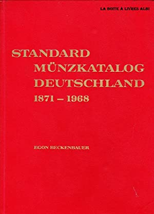 Standard Münzkatalog Deutschland 1871 - 1968 Numismatique Ordres, Décorations Billets, ...