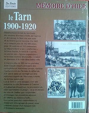 Le Tarn 1900 1920 Mémoire d'hier Cartes postales anciennes Albi Castres Mazamet Carmaux...