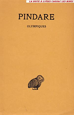 Olympiques, Grec ancien, Les Belles Lettres, Guillaume Budé: Pindare, Texte établi et ...