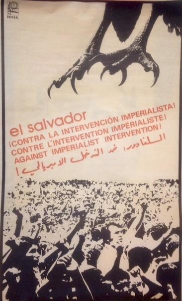 El Salvador: ?Contra la intervencion imperialista! [poster]: Enriquez, Rafael