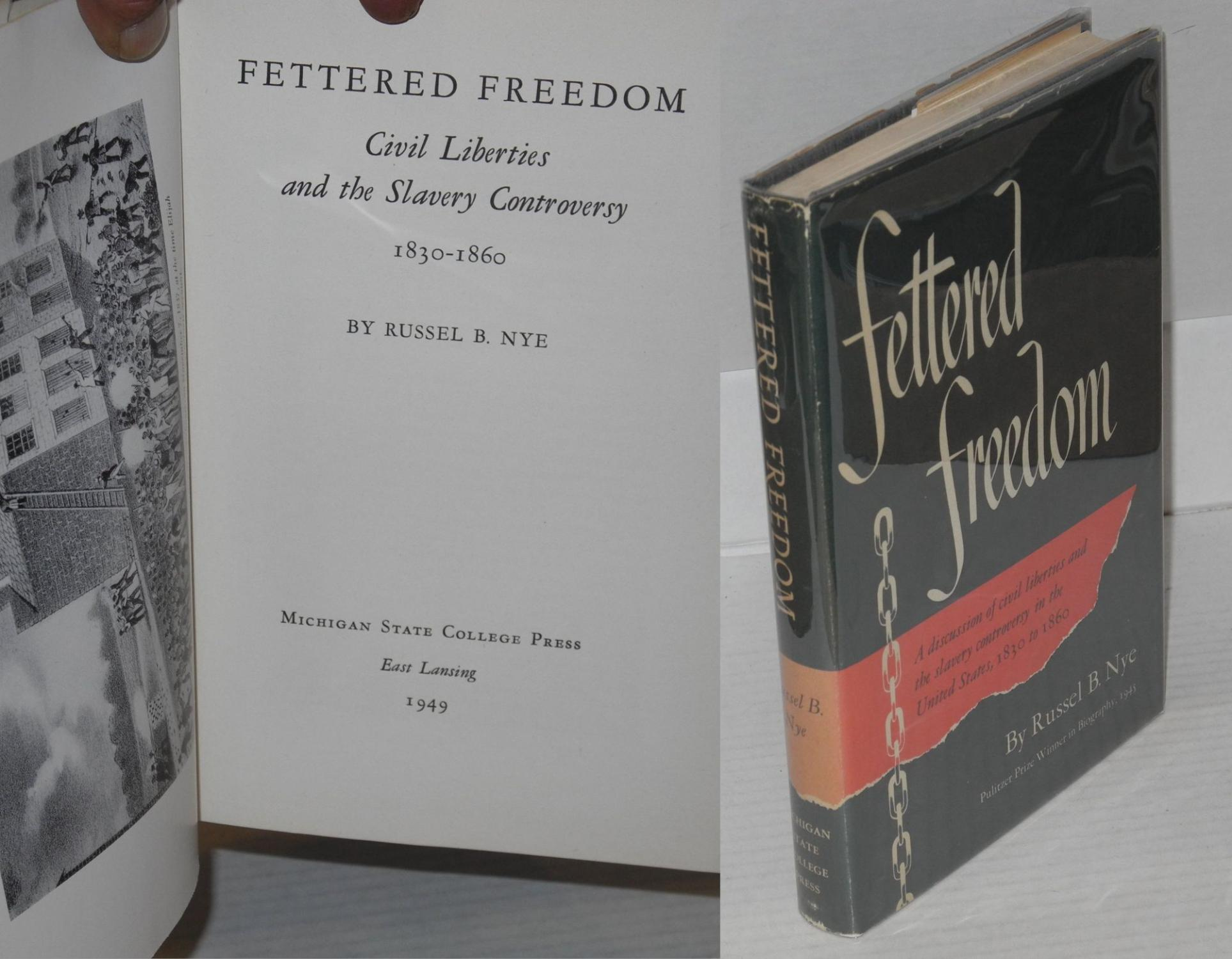 fettered to fancied freedom essay History of the christian church   a certain freedom of divergent private opinions is the indispensable condition of all  it fettered free.