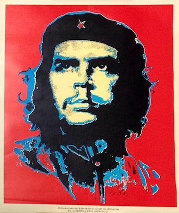 """Comandante Ernesto Che Guevara. """"El Guerrillero Heroico"""" [poster]"""