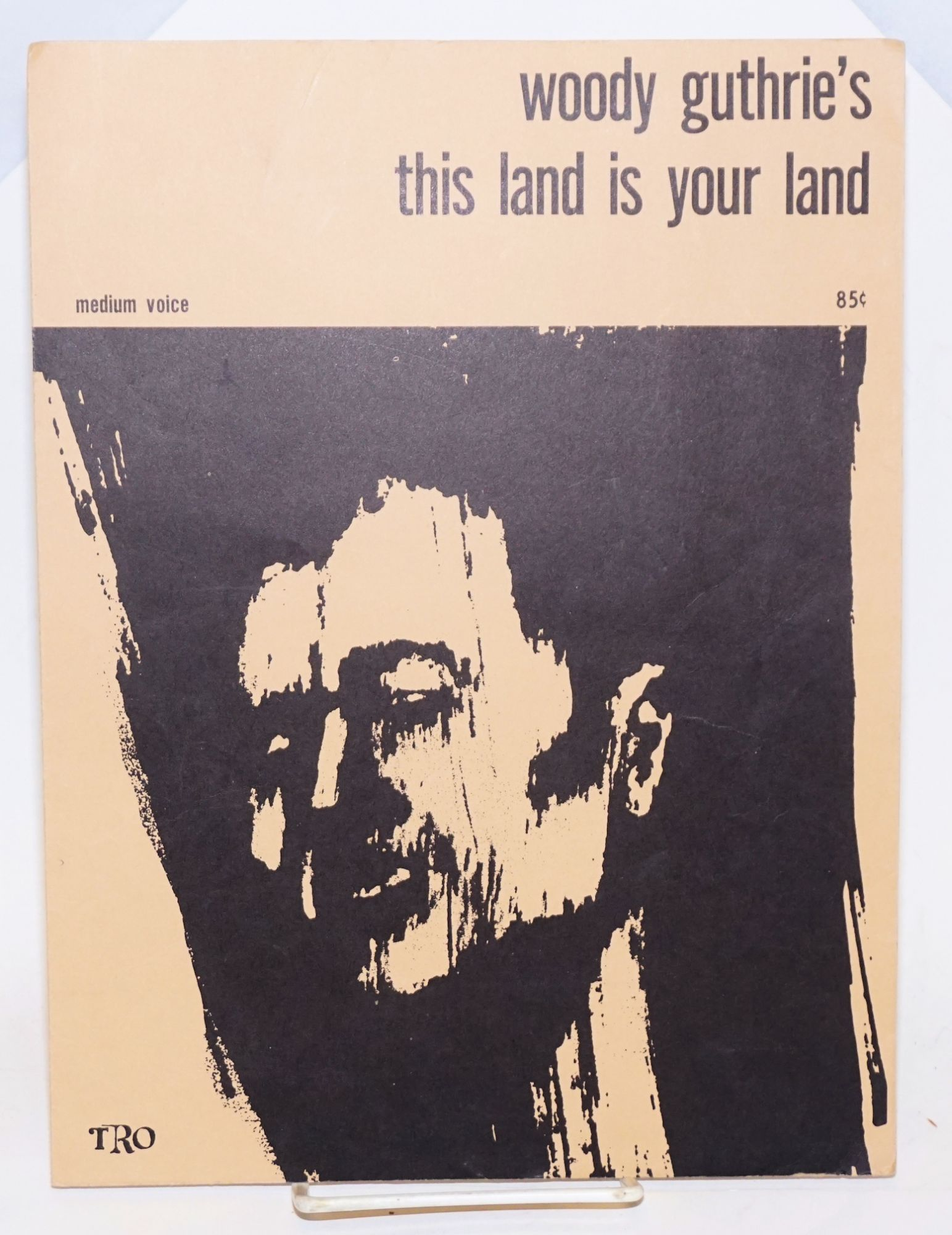 this land is your land sheet music medium voice