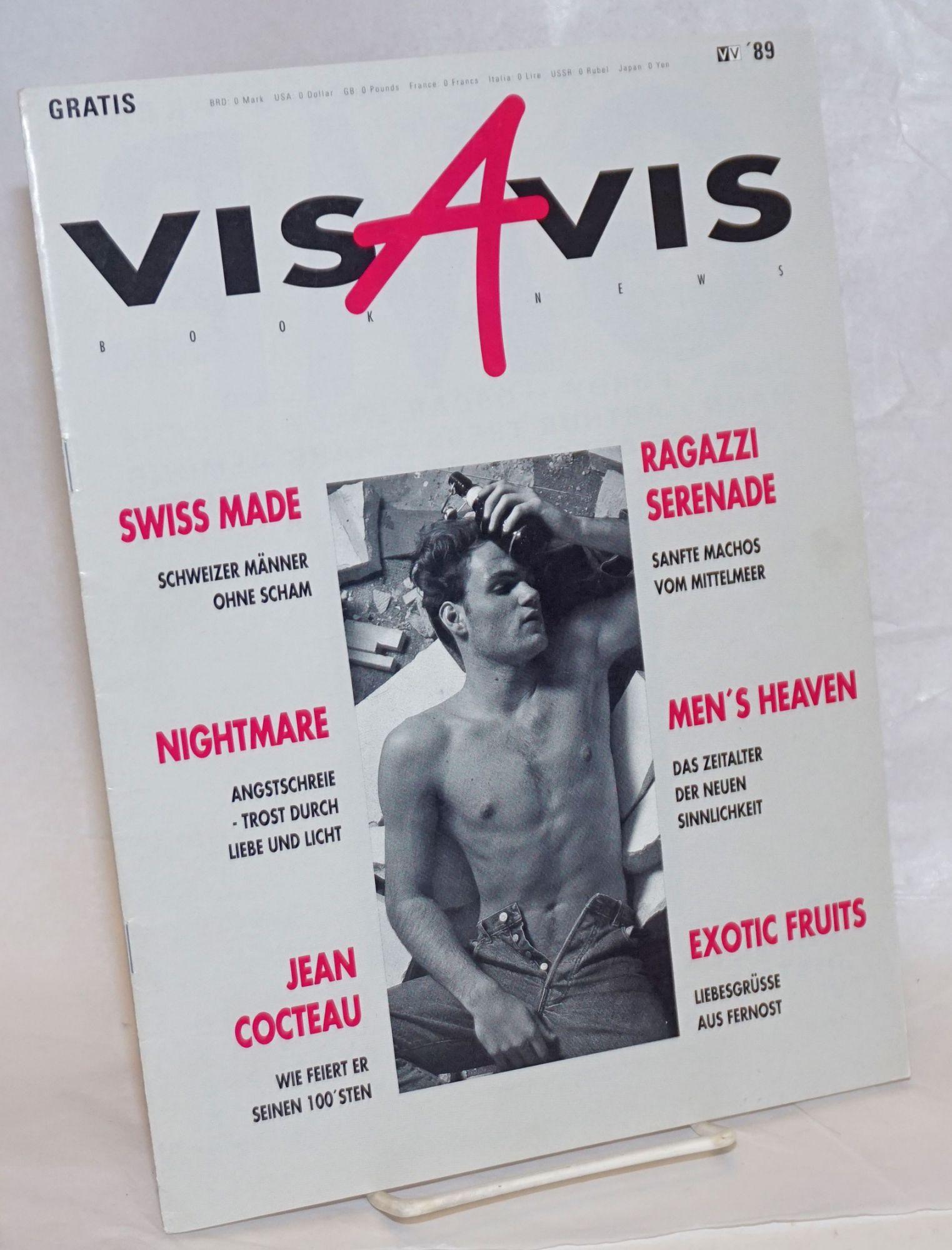 Vis-a-Vis BookNews #1