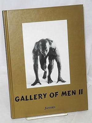Gallery of men II; a photo book