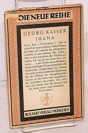 Juana; neinakter: Kaiser, Georg