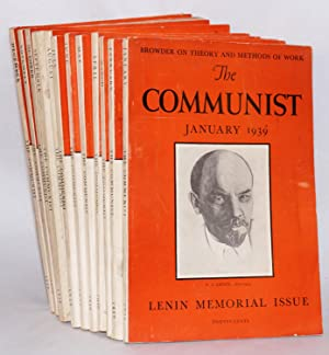 The Communist; a magazine of the theory and practice of Marxism-Leninism. Vol. 18 no. 1 to 12, ...
